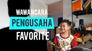 Abang Aflah Wawancara Pengusaha Online | Anak Nya Babe