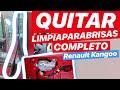 QUITAR el LIMPIAPARABRISAS Renault Kangoo - Puerta Trasera Izquierda - DIY DESPIECES