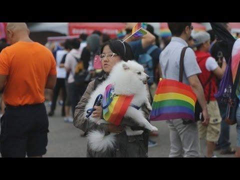 Taipei, capital del orgullo LGBT en Asia con la mayor marcha del continente