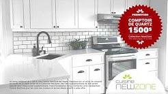 Promotion Cuisine NewZone - Comptoir de quartz - Printemps 2020