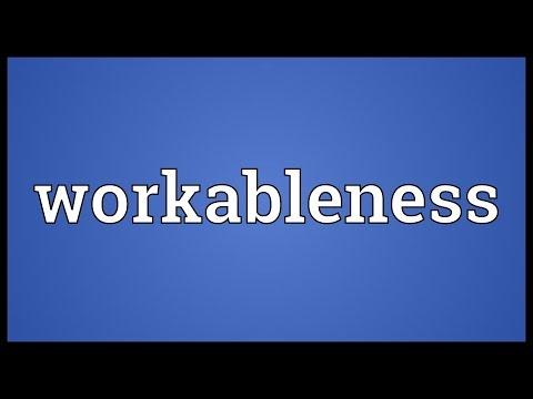 Header of workableness