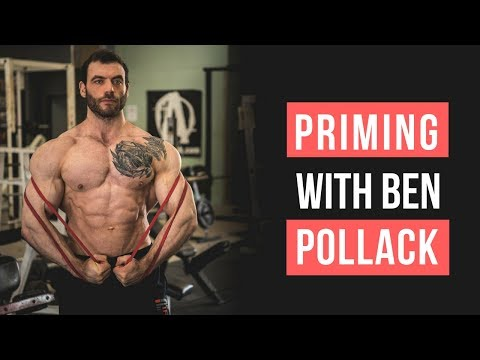 Workout Warm Up With Ben Pollack (Bodybuilding vs Powerlifting) | MIND PUMP