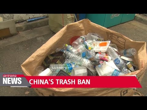 China's waste import ban causing worldwide crisis