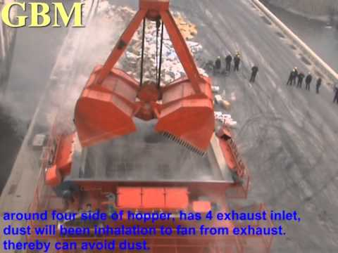 GBM industrial Dust proof hopper  for bulk cargo gbm machinery