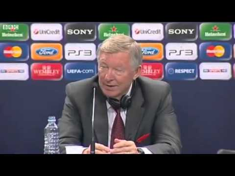"Sir Alex Ferguson ""most stupid question"" about Messi"