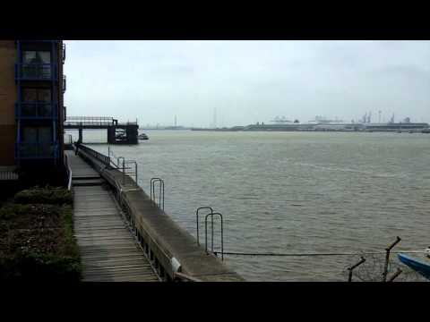 River Thames at Gravesend, Kent.