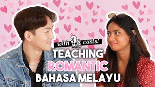 Sayang sayang sayang = I love you?! │Malay girl teaches Korean guy romantic Bahasa Melayu