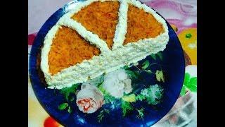 """Кулинарный влог: Рецепт №48 Салат """"Долька апельсина"""" 2016"""