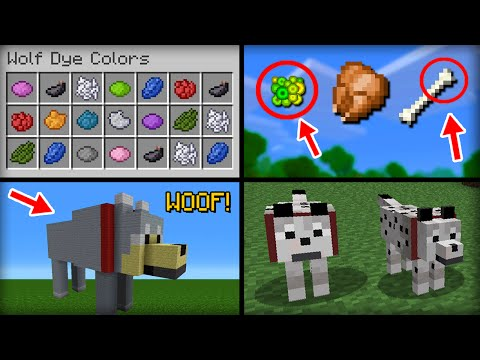 ✔ Minecraft: 20 Things You Didn't Know About the Wolf