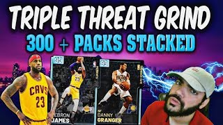 Diamond Danny Granger and COMPANY Take Over Nba 2k19 MYTEAM TRIPLE THREAT! Stacking PACKS with D