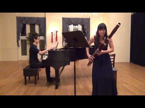 MCNY Presents Yen-Chen Wu, bassoon, Livan, Piano, Devienne, Kreutzer, Solal, Nussio, Bounty