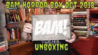 Bam Horror Box Unboxing for October 2018