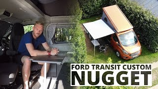 Ford Transit Custom Nugget - lepiej spać czy jechać?