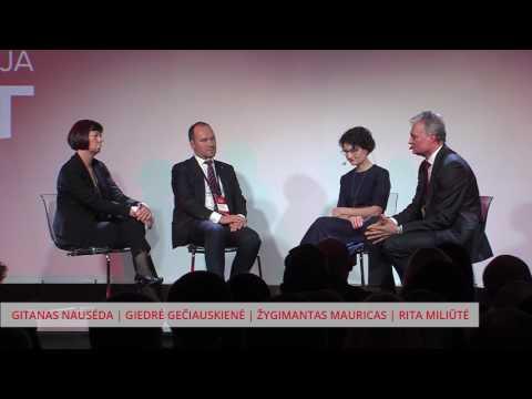 EKONOMISTŲ DISKUSIJA @ VADOVŲ KONFERENCIJA EBIT 2017 (moderatorius Rita Miliūtė)
