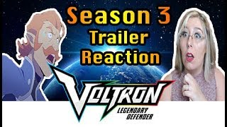 Season 3 Trailer React ~ Voltron: Legendary Defender Reaction Zamber
