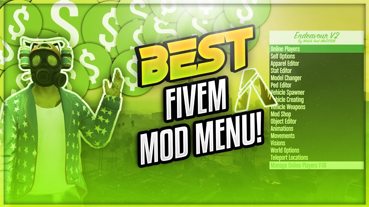 Champion Hacks [JULY 2018] 🔥BEST NEW FIVEM MOD MENU HACK! 🔥