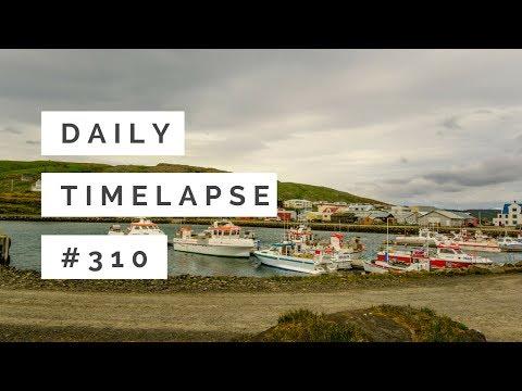 Daily Timelapse #310 Hólmavik Harbor