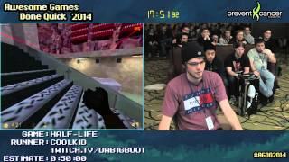 AGDQ 2014 - Half-Life - COOLKID - Speedrun