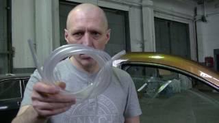Доработка уплотнителей боковых стёкол Renault Duster.