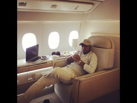 DAVIDO IS SPOILT! HE FLEW TO BENIN REPUBLIC WITH HIS DAD'S PRIVATE JET