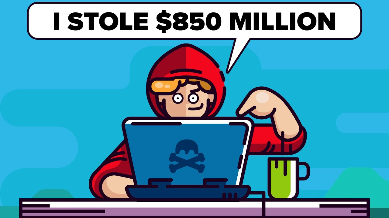 'How I Stole $850 Million Dollars Online'
