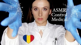 🇷🇴 ASMR Control Medical *Medical Roleplay in Romanian