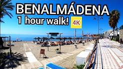 ⁴ᴷ BENALMADENA walking tour, Malaga, Costa del Sol Andalusia, Spain 🇪🇸 4K