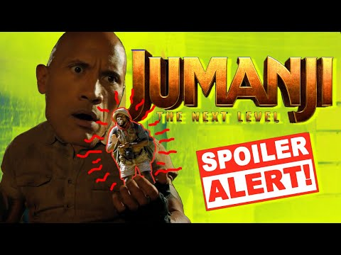 Jumanji The Next Level Ooops! Everything You Missed