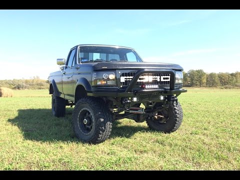 Custom Steel Truck Bumper (1996 Ford F-250)