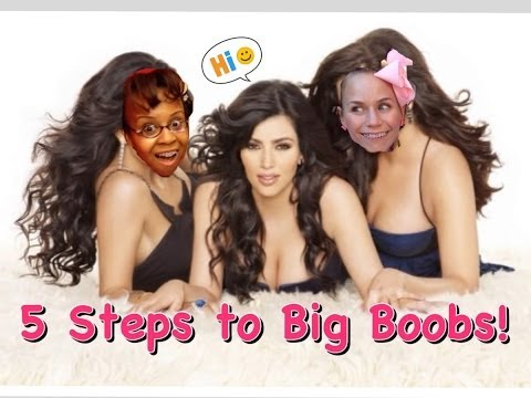 5 Steps To Bigger Boobs: FabulousnessNess