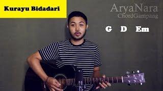 Chord Gampang (Kurayu Bidadari) by Arya Nara (Tutorial Gitar) Untuk Pemula