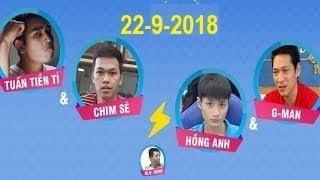 Trực tiếp AoE - Chim Sẻ Đi Nắng + Tuấn Tiền Tỉ  vs Hồng Anh + G_man - Khi Chim Sẻ đối đầu với Gman