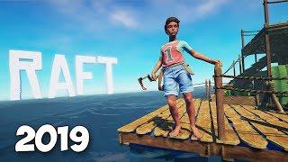 КАК ЗАБРАТЬСЯ НА ОСТРОВ - ОБНОВА ПЛОТА - ВЫЖИВАНИЕ - Raft 2019 #2