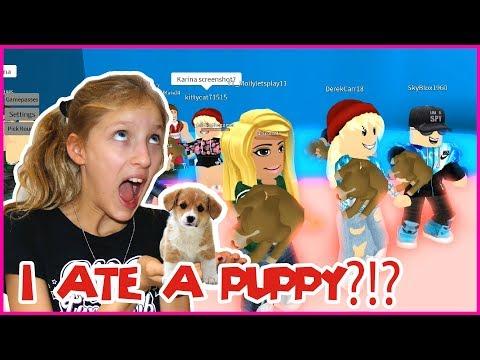 I ATE A PUPPY???