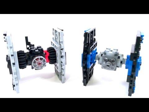 LEGO Star Wars Mini Tie Fighter VS. Mini Special Forces Tie Fighter ...