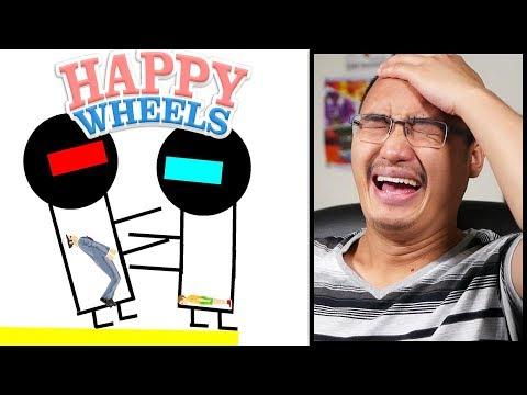 LE MEILLEUR COMBAT DE ROBOTS SUR HAPPY WHEELS !
