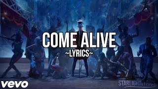 the greatest showman   come alive lyric video hd