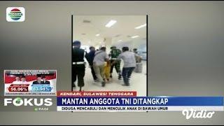 Culik dan Cabuli Bocah di Bawah Umur, Mantan Anggota TNI Ditangkap di Kendari   Fokus Pagi