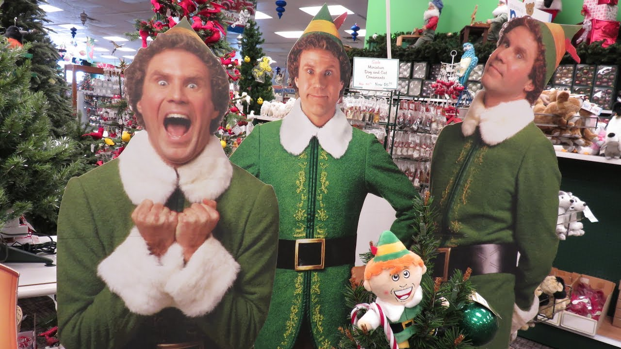biggest elf christmas store roberts christmas wonderland we wish you a merry christmas - Roberts Christmas Wonderland