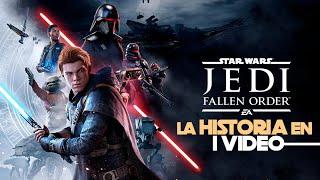 Star Wars Jedi Fallen Order : La Historia en 1 Video