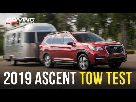 2019 Subaru Ascent Airstream Towing Test