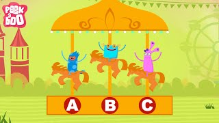 ABCD Poem | Popular Nursery Rhyme For Kids | Peekaboo