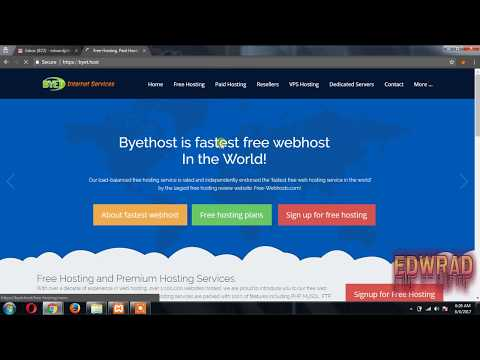 Upload Php script and Database to Hosting