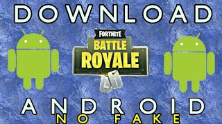 HOW TO DOWNLOAD FORTNITE FOR ANDROID PHONES(NO VERIFICATION CODES NEEDED)