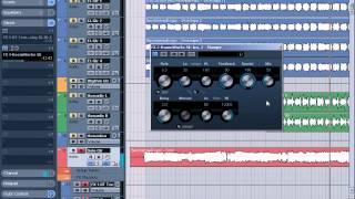 11 Обработка и сведение гитар в Nuendo 4
