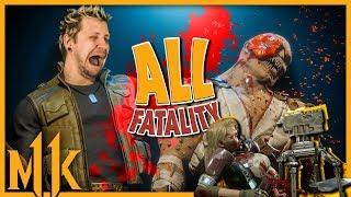 ALL FATALITIES! MORTAL KOMBAT 11 *wszystkie*