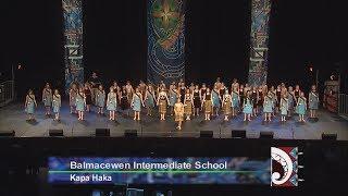 Balmacewen Intermediate School  Kapa Haka - Otago Polyfest 2107