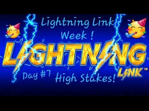 Lightning Link Week! Day #7 💰HIGH STAKES💰!! Hope you have enjoyed Lightning Link Week!!🥳🥂🥳😱