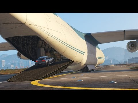 Los Santos Goes to Work - Day 14 - Shipping Cars with Air Freight