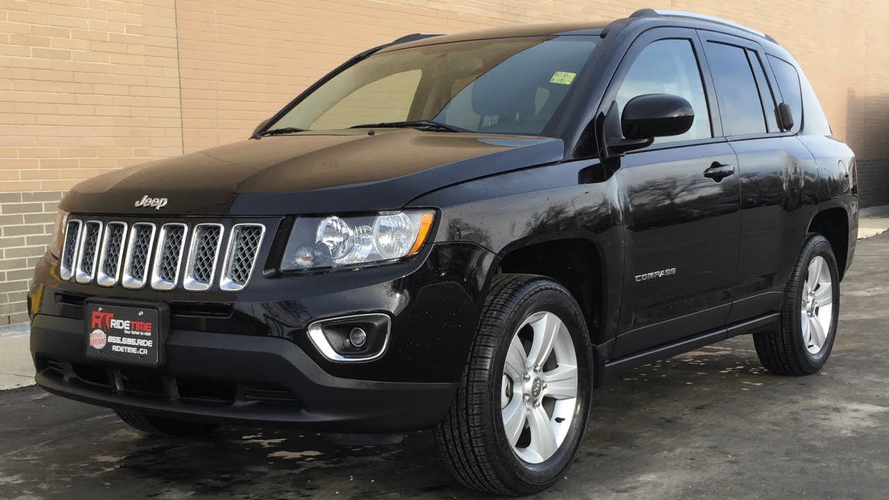 2015 jeep compass high altitude 4wd leather heated seats backup camera super low km 39 s youtube. Black Bedroom Furniture Sets. Home Design Ideas